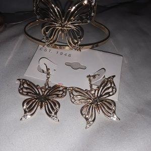 Jewelry - Butterfly set